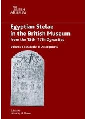 EGYPTIAN STELAE IN THE BRITISH MUSEUM FROM THE 13TH - 17TH CENTURIES Tomo I Vol.I FASC