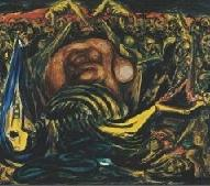 "MEN OF FIRE ""JOSE CLEMENTE OROZCO AND JACKSON POLLOCK"""