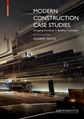 "MODERN CONSTRUCTION CASE STUDIES ""EMERGING INNOVATION IN BUILDING TECHNIQUES"""