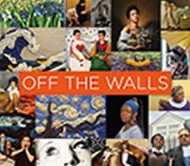"OFF THE WALLS  "" INSPIRED RE-CREATIONS OF ICONIC ARTWORKS"""