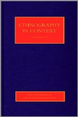 ETHNOGRAPHY IN CONTEXT (FOUR-VOLUME SET)